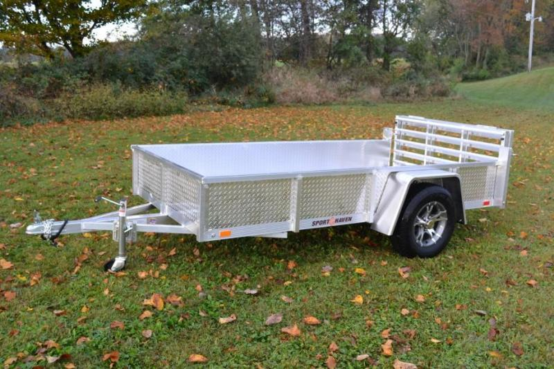 Sport Haven 6x10 Utility Trailer w/ Aluminum Deck & Sides