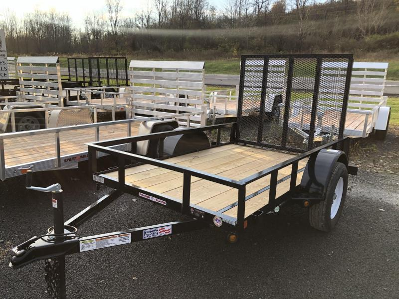 Liberty 5 X 10 Landscape 3k Utility Trailer Jims Trailer World Upstate Ny Trailer Dealer Trailer Dealer Near Rochester Ny And Syracuse Ny In Lyons Ny Flatbed Equipment Utility Trailers And Enclosed Trailers