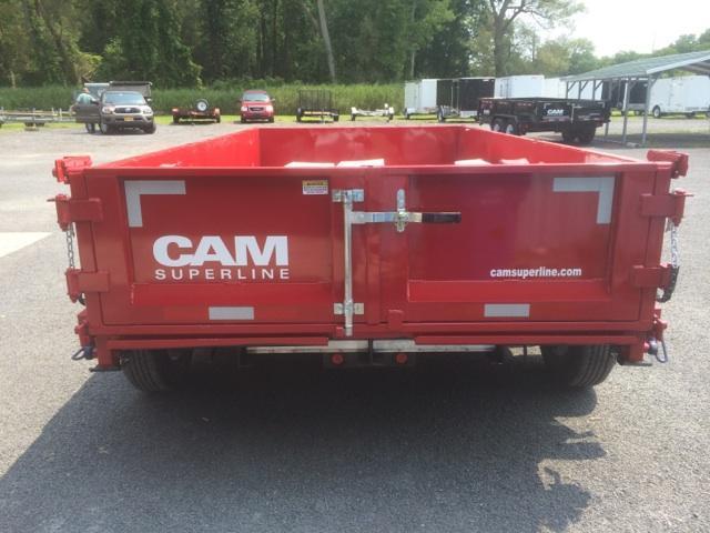 CAM 6x10 Low Profile Dump Trailers 12K
