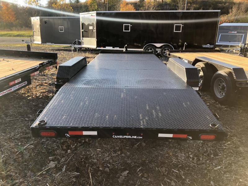 CAM Superline 7x18 Metal Deck 10K Car Hauler