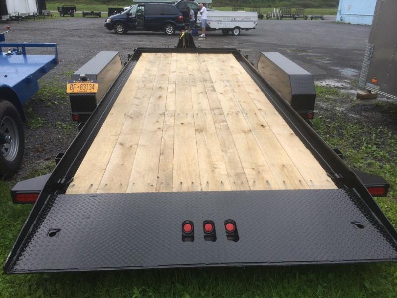 CAM 18 ft. Full Deck Tilt Trailer 16K