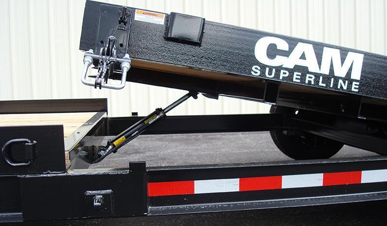 CAM Superline 19' Split Deck Tilt Trailer