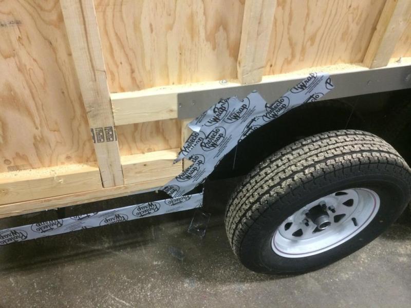 Car Mate 7x16 Custom Cargo Trailer w/ Barn Door