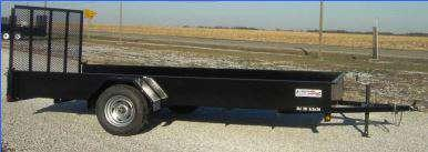 Liberty 78 in. x 12 3K Solid Side Utility Trailer