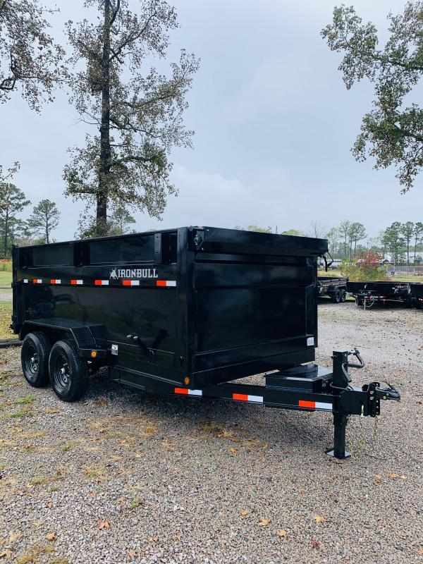2021 Norstar DTB 14K GVWR 7X14 Dump Trailer with 4' sides