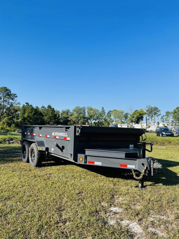 2022 Iron Bull 14K GVWR 7X14 Dump Trailer