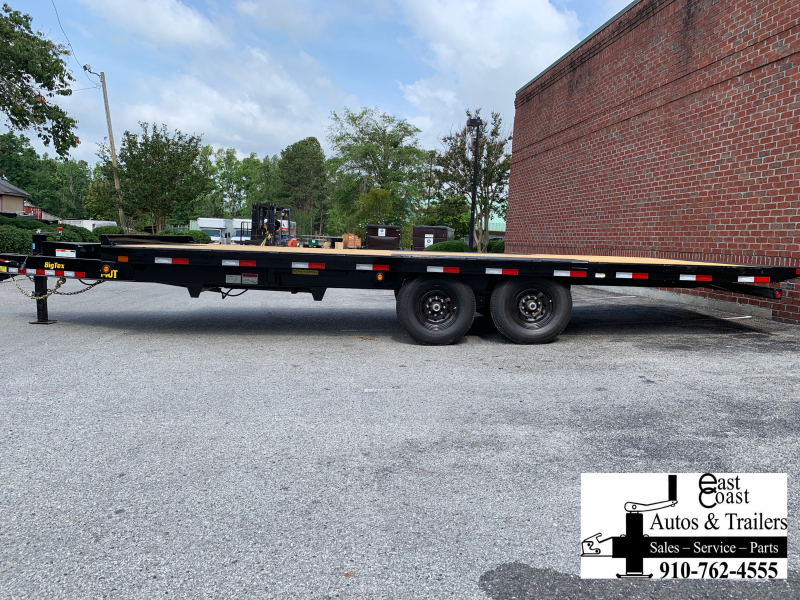 Big Tex Trailers 14OT 22' Over-The-Axle Full Tilt Equipment Trailer with 14K GVMR