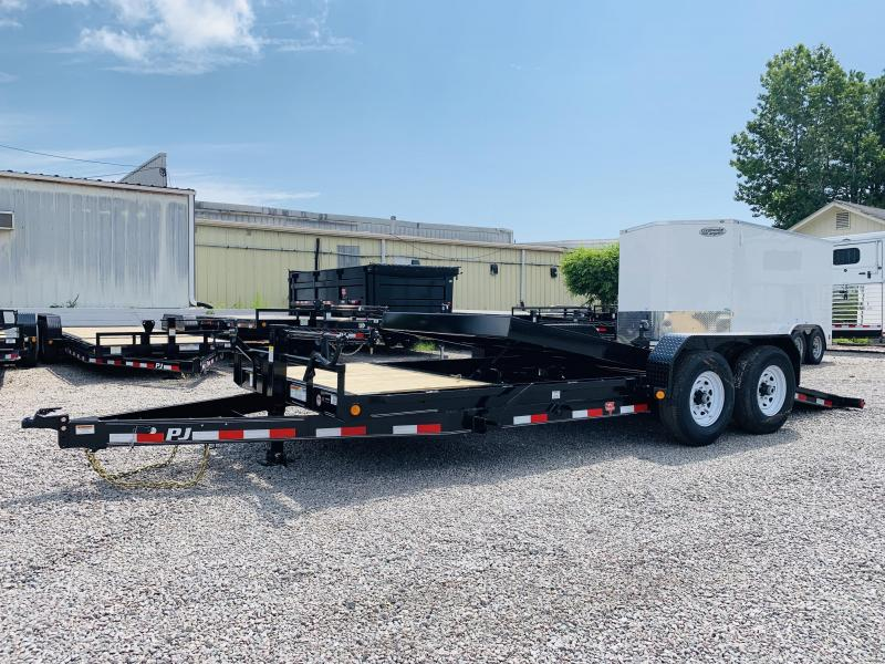 2020 PJ Trailers PJ T6 20' Equipment Trailer