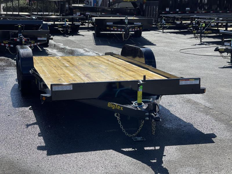Big Tex Trailers 70CH 18' Car Hauler including dove tail
