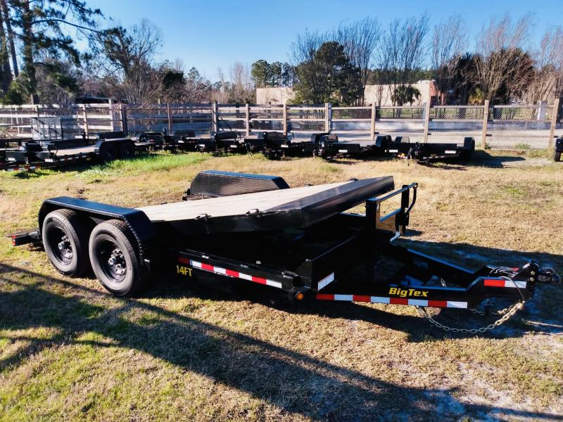 Big Tex Trailers 14FT 18' Full Tilt Equipment Trailer with 14K GVWR