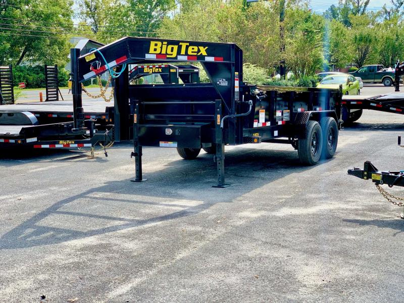 2021 Big Tex Trailers 14gx 7x14 Gooseneck Dump Trailer