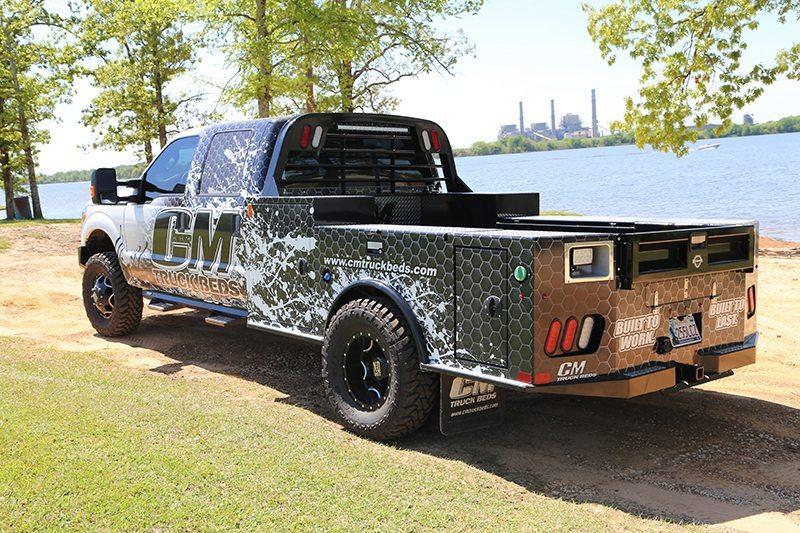 """2020 CM Truck Beds TM Deluxe Truck Bed Cab & Chassis 60""""CA"""