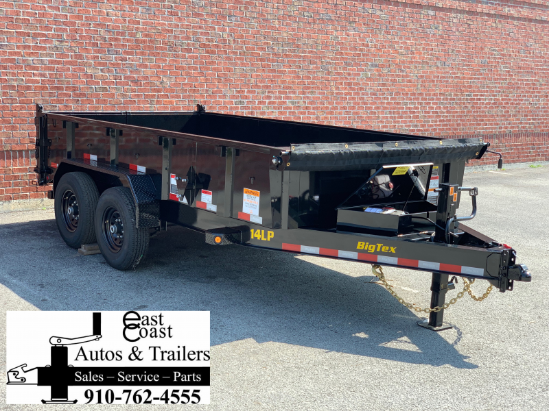 Big Tex 14LP (7' X 16') Low Profile Dump Trailer