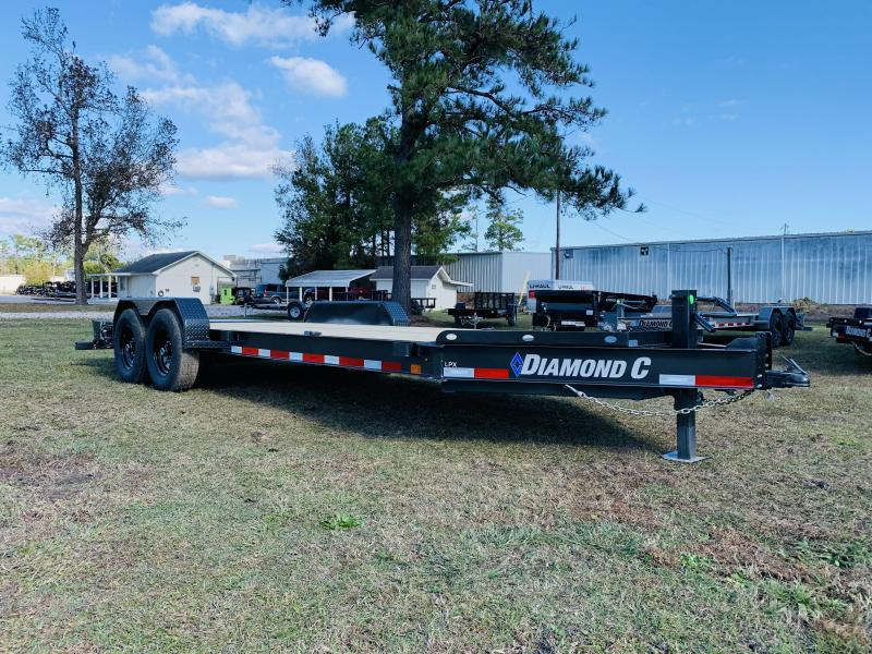 2021 Diamond C Trailers LPX207 20' Metallic Gray Equipment Trailer