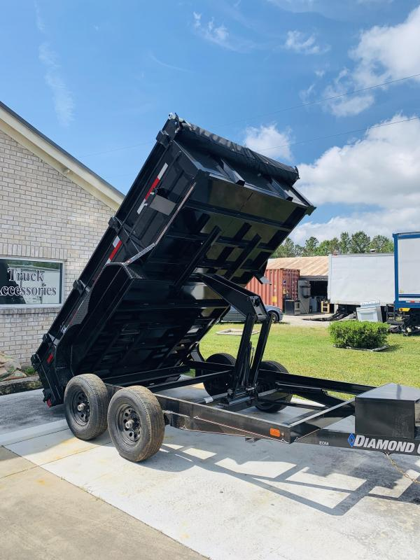 Diamond C Trailers EDM (7' X 12')  Dump Trailer with 9990 GVWR