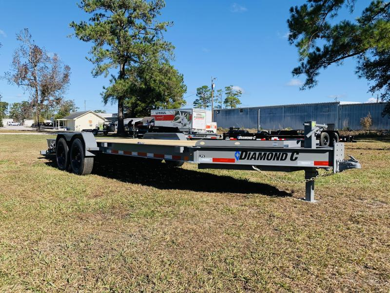 2021 Diamond C Trailers LPX208 20' Cement Equipment Trailer