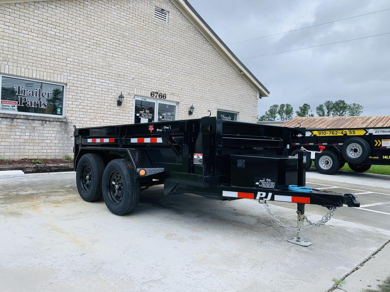 PJ Trailers D5102 (5' X 10') Dump Trailer with 7K GVWR