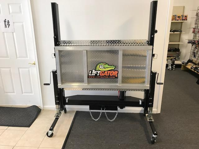 2017 Liftgator - FITS IN YOUR HITCH AND CAN LIFT 1200 POUNDS!