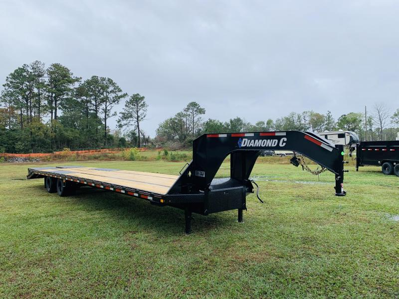 2021 Diamond C Trailers FMax210 35+5 Flatbed Trailer