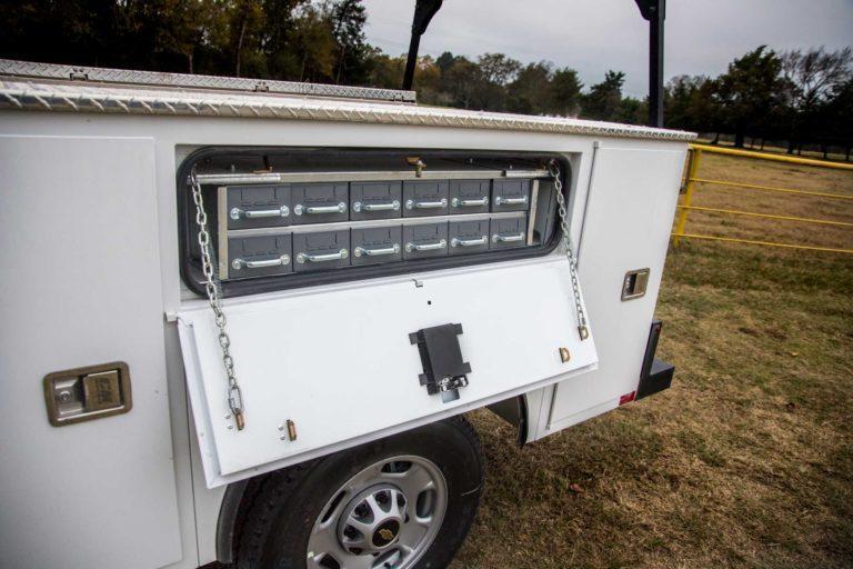 "2020 CM Truck Beds SB Steel Service Body Truck Bed Take-Off 60""CA SRW"