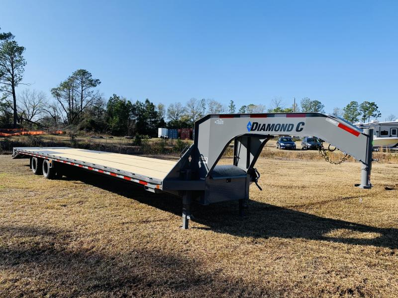 2021 Diamond C Trailers FMAX212 35+5 Flatbed Trailer