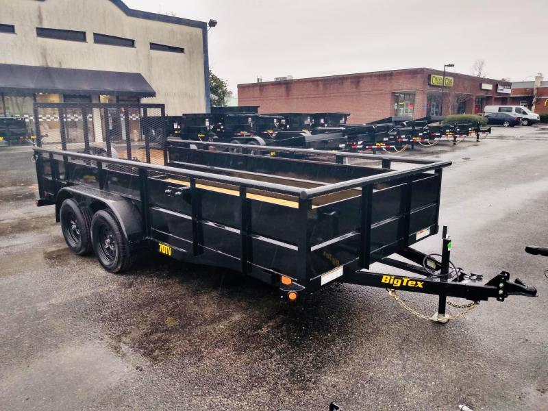 2021 Big Tex Trailers 70TV-14' Utility Trailer