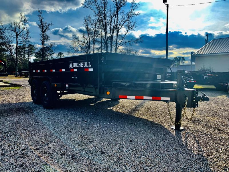 2021 Iron Bull 14K GVWR 7X14 Dump Trailer