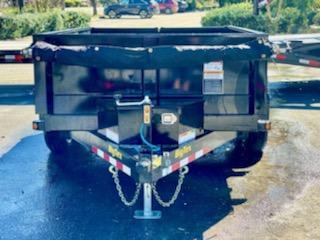 Big Tex Trailers 90SR (6' X 12') Dump Trailer with 9990 GVWR