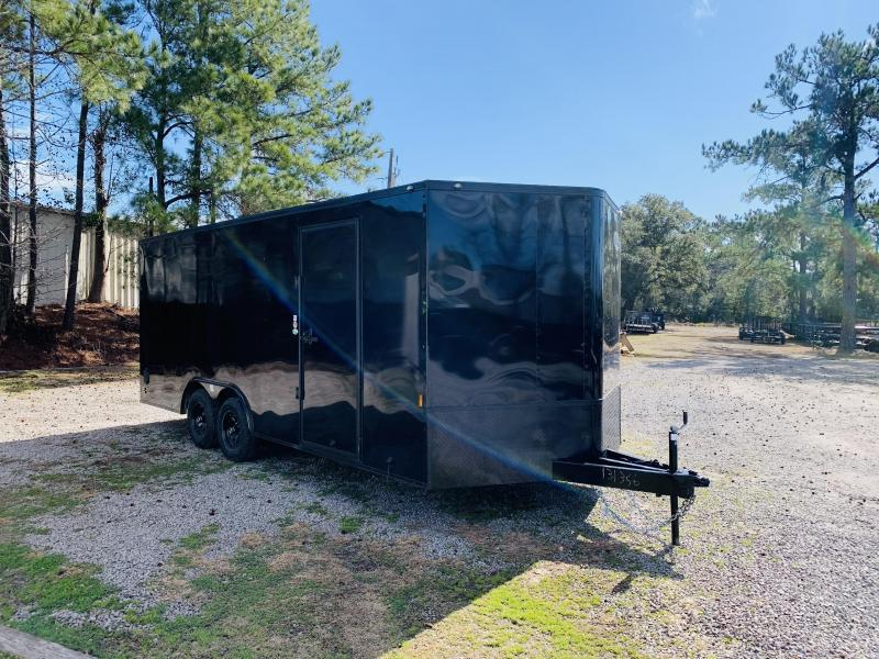 2021 Forest River 8.5x20 BLACKOUT Enclosed Cargo Trailer