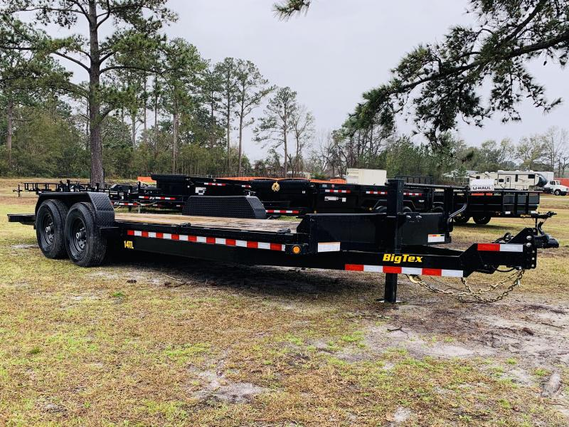 Big Tex 14TL - 20' HD 3/4 Tilt Trailer with 14K GVWR