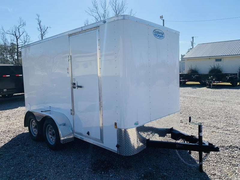 2021 Forest River 6X12 TANDEM AXLE Enclosed Cargo Trailer