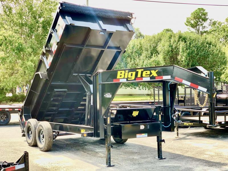 2021 Big Tex Trailers 14GX 7X16 GOOSENECK DUMP TRAILER Dump Trailer