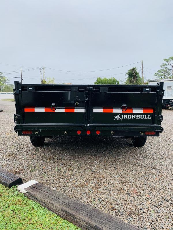 2021 Norstar 7x16 IronBull DTB Dump Trailer