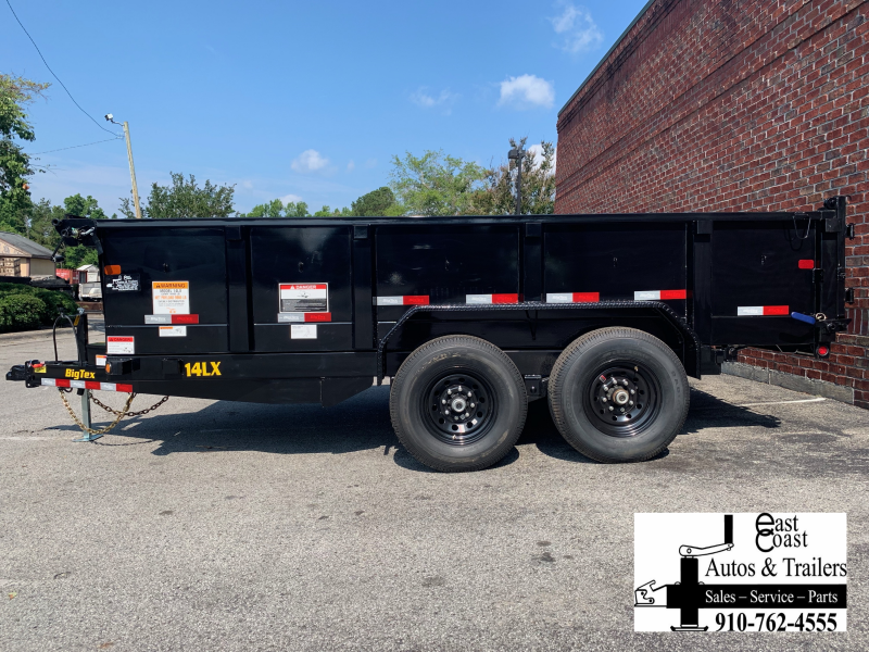 Big Tex 14LX (7' X 14') HD Dump Trailer with 14K GVWR