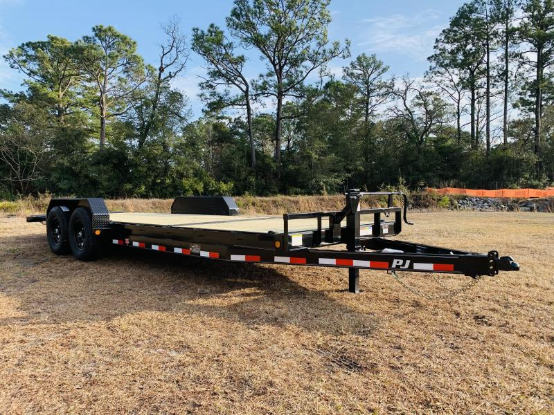 2021 PJ Trailers PJ T6 22' Equipment Trailer
