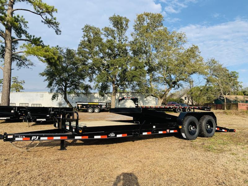 2021 PJ Trailers PJ T6 22' Equipment Trailer