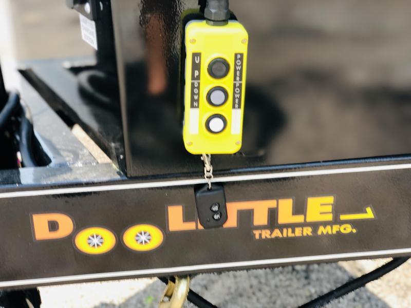 2022 Doolittle Trailer Mfg 82 x 16 Dump Trailer