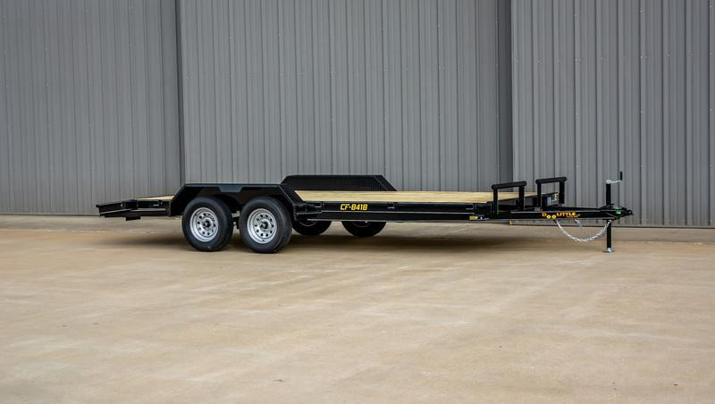 2021 Doolittle 84 x 18 CF Equipment Trailer