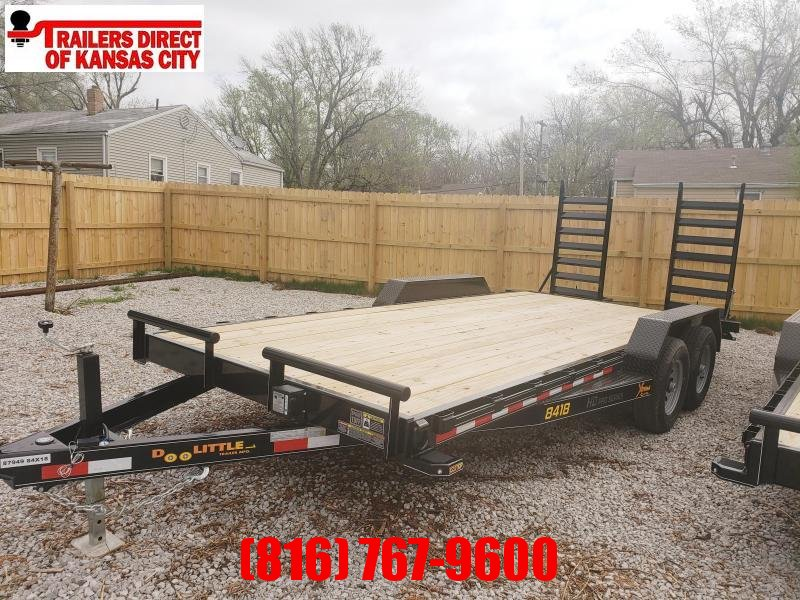 2020 Doolittle Trailer Mfg 84 x18 Equipment Trailer