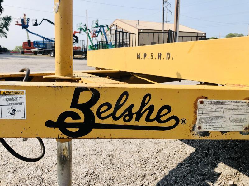 2012 Belshe 77 X 16 Equipment Trailer