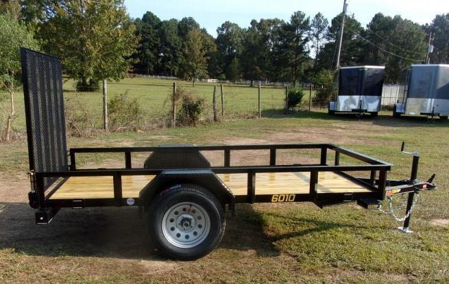 2021 Doolittle 60 X 10 Rally Sport Utility Trailer