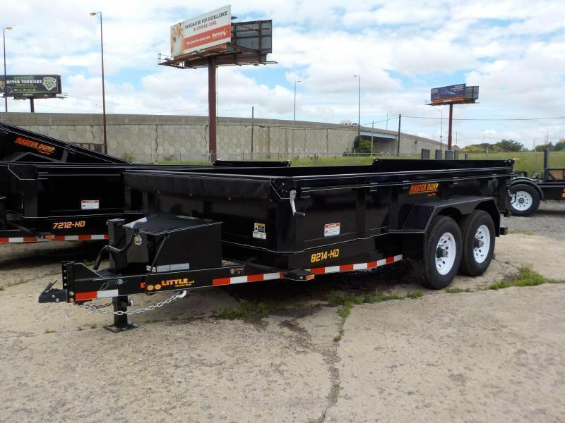 2021 Doolittle 82 x 14 Dump Trailer
