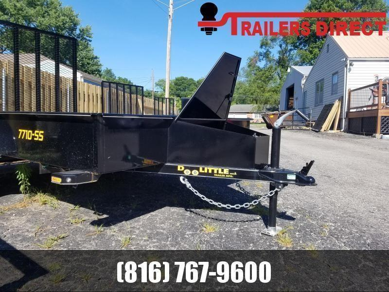 2021 Doolittle 77 X 10 Utility Trailer