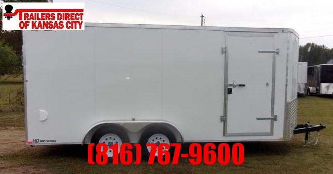 2021 Doolittle Trailer Mfg 7 x 16 Cargo Enclosed Cargo Trailer