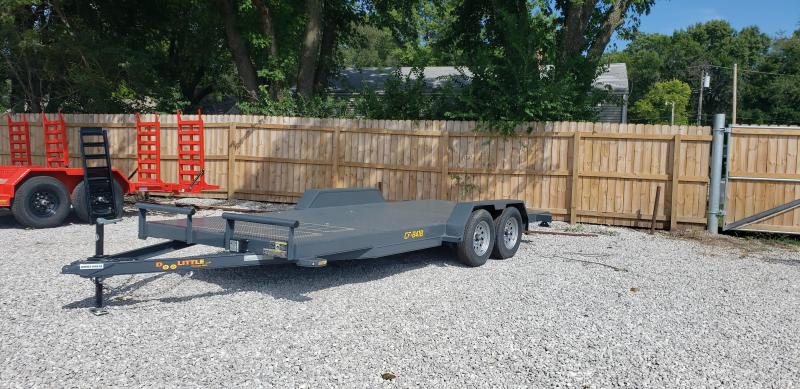 2021 Doolittle Trailer Mfg 84 x 18 Equipment Trailer