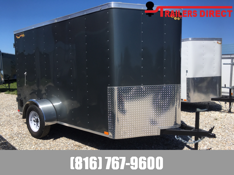 2020 Doolittle 6 X 10 Enclosed Cargo Trailer