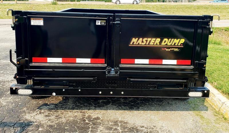 2021 Doolittle 72 x 12 Dump Trailer