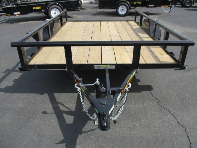 2021 Doolittle Trailer Mfg 77 X 10 PipeTop Utility Trailer