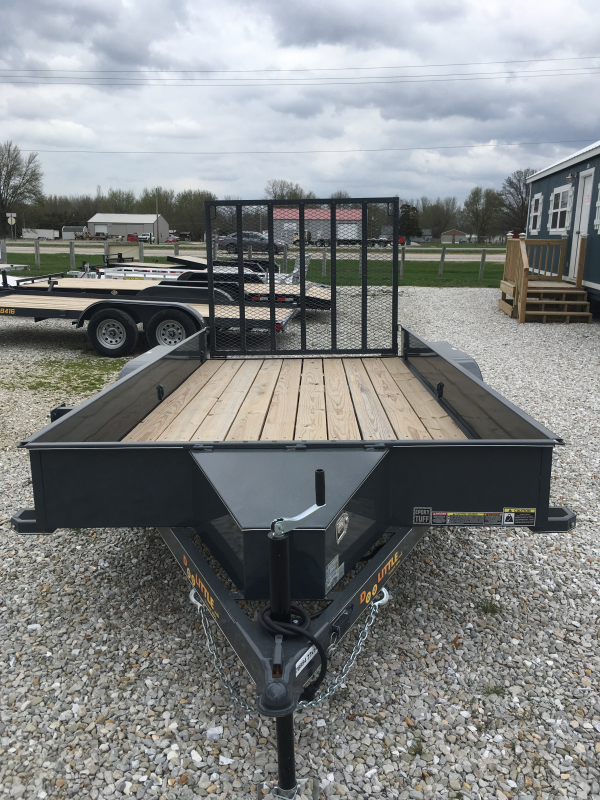 2020 Doolittle 77 x 14 Utility Trailer