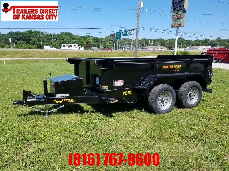 2021 Doolittle Trailer Mfg 72 x 10 Dump Trailer